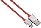 hama Lade-/Sync-Kabel Color Line, 1 m, rot