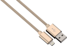 hama Hama Lade-/Sync-Kabel Lightning Color Line, 1 m, gold