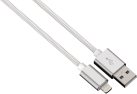 hama Hama Lade-/Sync-Kabel Lightning Color Line, 1 m, weiss