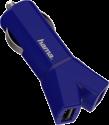 hama 12V-Ladegerät Color Line - 2-fach USB - Blau