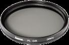 hama Filtre polarisant 58 mm - Noir