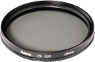 hama Polarisationsfilter 62 mm - Circular - Coated (2x) - Schwarz