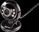hama AC150 - Webcam - 0.3 Megapixel - Schwarz