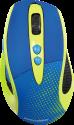 hama Knallbunt 2.0 - Optische Funkmaus - 2000 dpi - Gelb