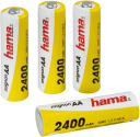 hama Accus NiMH 4x AA - Ready4Power - 2400 mAh - 1,2V