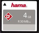 hama CompactFlash - Speicherkarte - 4 GB - Schwarz