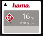 hama CompactFlash - Scheda di memoria - 16 GB - Bianco