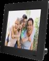 hama 7SLB - Digitaler Bilderrahmen - 7/17.78 cm - schwarz