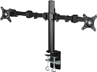 hama FULLMOTION Monitorarm - Monitorständer - 26/66 cm - Schwarz