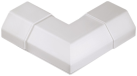 hama Verbindungsstück L-Form für Alu-Kabelkanal, eckig, weiss