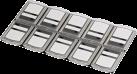 hama Speicherkarten-Box - Schwarz/Transparent