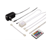 hama Flexibles LED-Band RGB, Starter-Set, 6-teilig