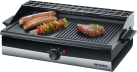 SEVERIN PG 2367 - Barbecue-Grill - 2200 W - Edelstahl/Schwarz