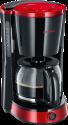 SEVERIN KA 4492 - Kaffeemaschine - 1000 W - Schwarz/Rot