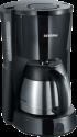 SEVERIN KA 4131 - Kaffeemaschine - 1000 W - Schwarz/Edelstahl