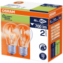 OSRAM CLASSIC ECO SUPERSTAR A, 46 W, Duo-Pack