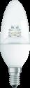 OSRAM LED SUPERSTAR CLASSIC B, E14, 4W, transparent