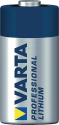 VARTA - PROFESSIONAL PHOTO LITHIUM CR123A - 1er Blister - Silber/Blau