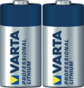VARTA - PROFESSIONAL PHOTO LITHIUM CR123A - 2er Blister - Silber/Blau