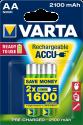 VARTA Ready To Use - Wiederaufladbare Batterie - AA / 2100 mAh - 2 Stück