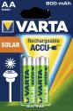 VARTA SOLAR ACCU AA - Batterie rechargeable - 2 pièces - Vert/Argent