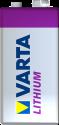 VARTA - LITHIUM 9 V - Silber/Violett