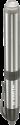 VARTA LED Pen Light 1AAA - Taschenlampe - 5 mm LED - Silber