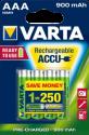 VARTA Ready To Use - Wiederaufladbare Batterie - AAA / 900 mAh - 4 Stück