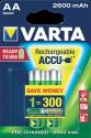 VARTA Ready To Use - Wiederaufladbare Batterie - AA / 2600 mAh - 2 Stück