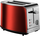 Russell Hobbs Jewels Toaster, rot / edelstahl