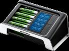 VARTA LCD Ultra Fast Charger - Ladegerät -  Mit 4 x AA Akkus 2400 mAh - Schwarz