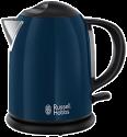 Russell Hobbs Colours Royal Blue Kompakt-Wasserkocher, 1 l