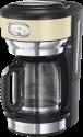 Russell Hobbs Retro Vintage - Glas-Kaffeemaschine - 1.25 l - Cream