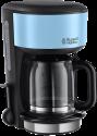 Russell Hobbs Colours Plus Heavenly Blue - Macchina per il caffè - 1000 W - Nero/Blu