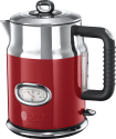 Russell Hobbs Retro Ribbon - Bollitore - 1.7 l - Rosso