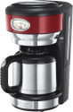 Russell Hobbs Retro Ribbon - Thermo-Kaffeemaschine - 1 l - Rot