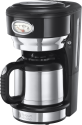 Russell Hobbs Retro Classic Noir - Thermo-Kaffeemaschine - 1 l - Schwarz