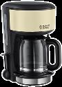 Russell Hobbs Colours Classic Cream Glas-Kaffeemaschine