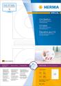 HERMA CD-Etiketten A4 - 200 Stk. - Weiss