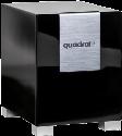 quadral Qube 8 - aktiver Subwoofer - 30-200 Hz - schwarz