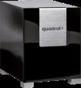 quadral Qube 12 - aktiver Subwoofer - 20-200 Hz - schwarz