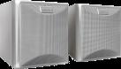 quadral Maxi 220W - Stereo Lautsprecher - 55-24'000 Hz - silber