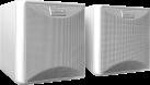 quadral Maxi 220W - Stereo Lautsprecher - 55-24'000 Hz - weiss
