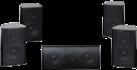 quadral Chromium Style 5.0 - Surround Lautsprecher - 51-46.000 Hz - schwarz