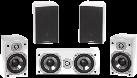 quadral Chromium Style 5.0 - Surround Lautsprecher - 51-46.000 Hz - weiss