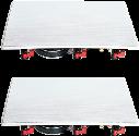quadral Casa W80 - Haut-parleurs muraux - 40-30'000 Hz - blanc