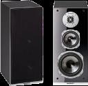 quadral Argentum 530 - Regallautsprecherpaar - 40-35'000 Hz - schwarz