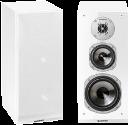 quadral Argentum 530 - Regallautsprecher -paar - 40-35'000 Hz - weiss