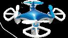 VIVANCO Mini Quadrocopter - Temps de vol 4-6 min - Blanc/Bleu