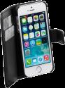 VIVANCO 35424 - Flip-Hülle - Für iPhone 5/5S - Schwarz